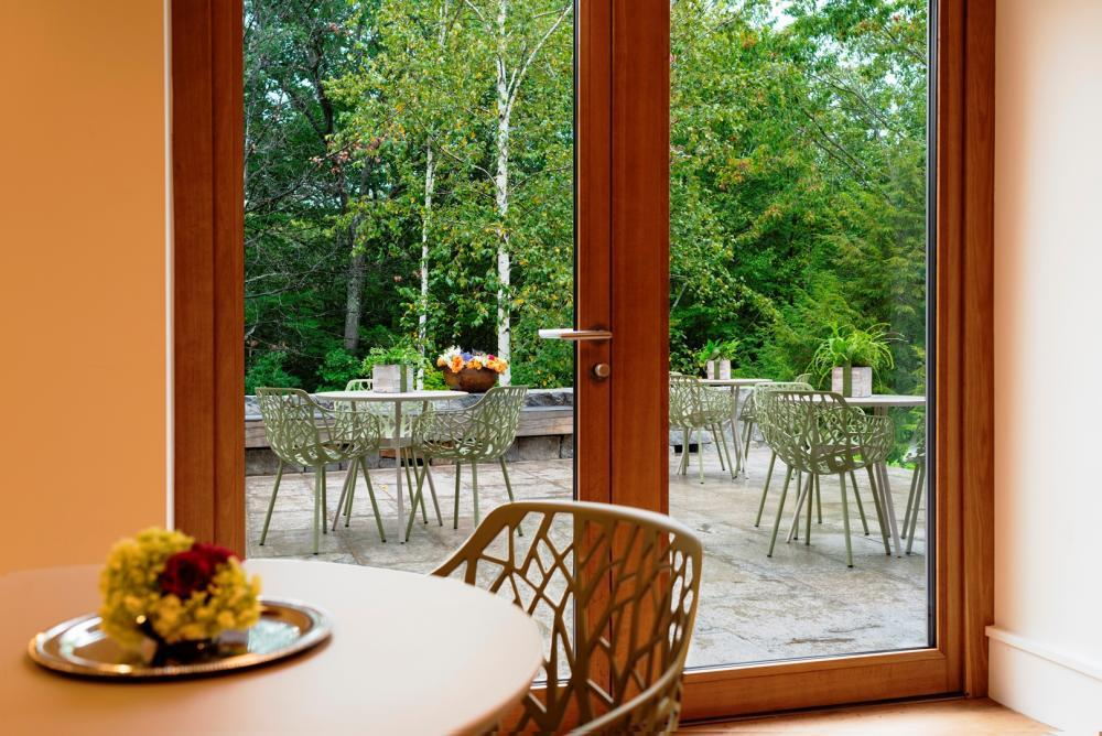Alnoba Dining Room Terrace View