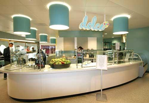 End your meal with a treat from Dolce
