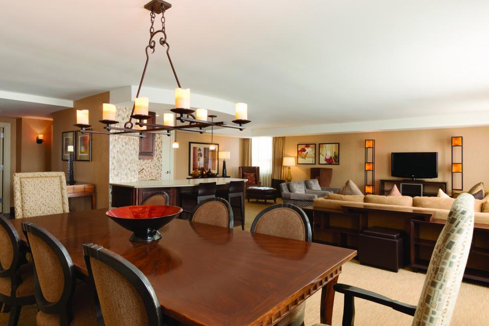 Presidential Suite - Embassy Suites by Hilton, attached to The Grand