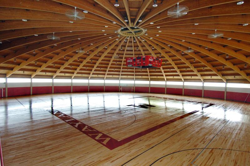 The Field House is used for sporting events, Expos, and large gatherings.