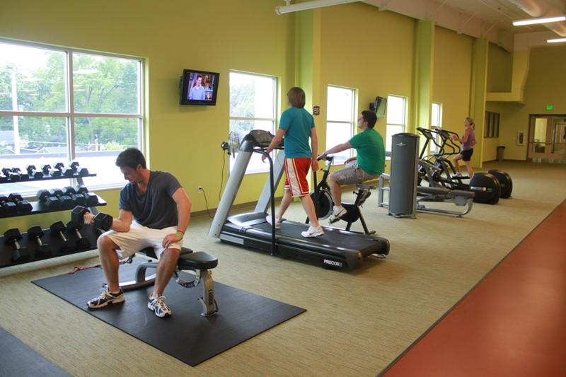 Fitness Center and Track