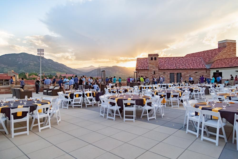 Folsom Field Rooftop Terrace