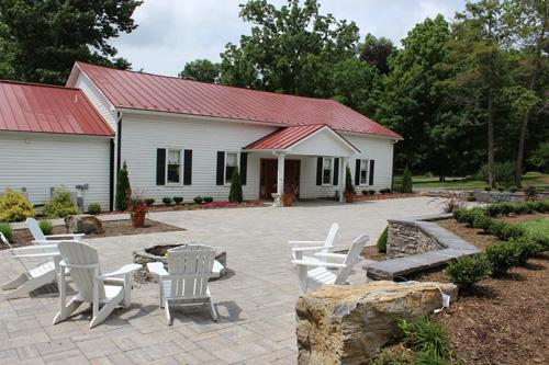 The Carriage House and Garden Terrace offer large indoor and outdoor space