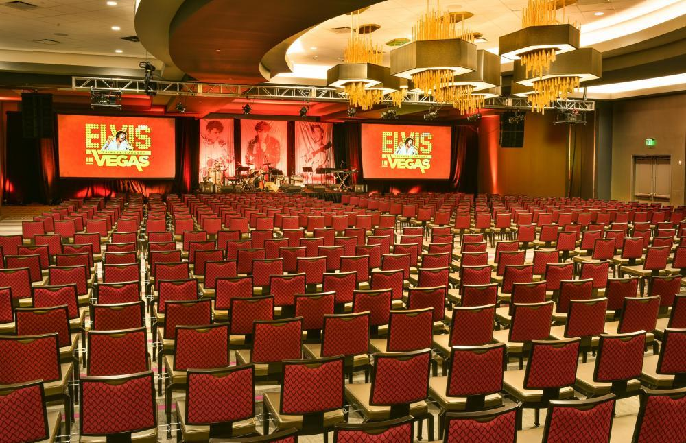 The Grand Ballroom features 10,000 square-feet of flexible space
