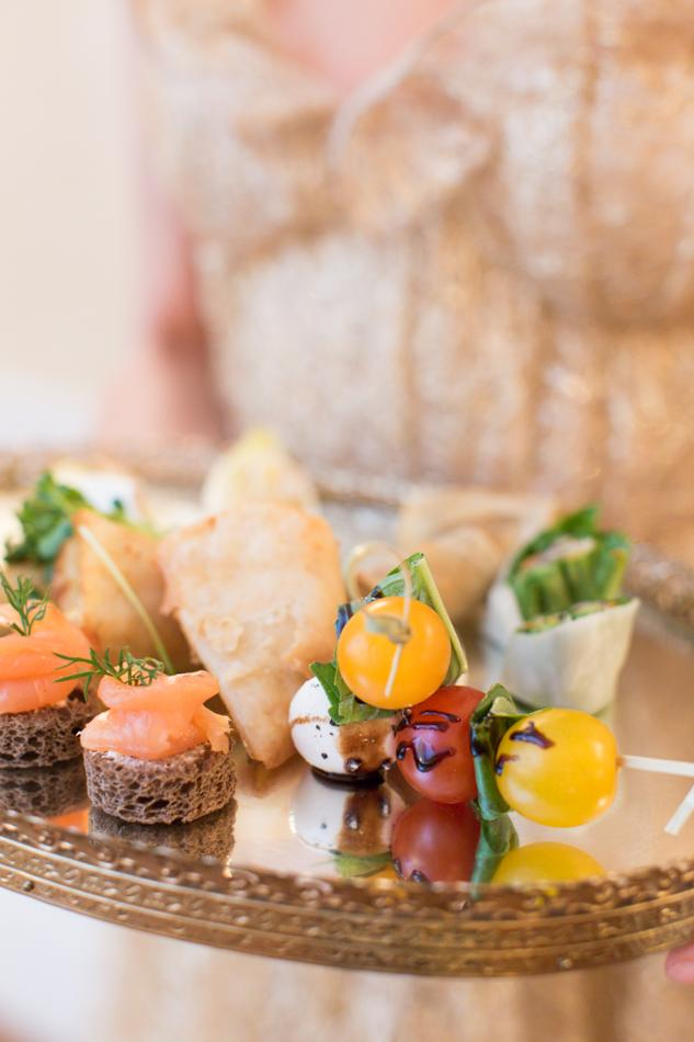 Canapes at the 3 West Club