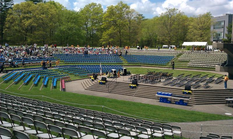 Amphitheater - Seating for 3500