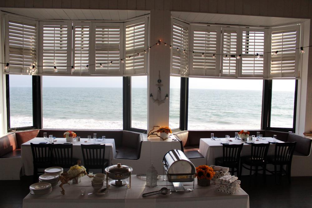 Bay Windows in the Sunset Room