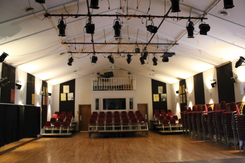 Performance and large meeting space in the theater