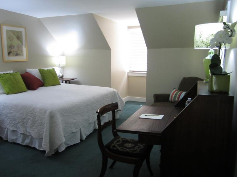 Lodge in 1 of the 11 bedrooms in the Stone House