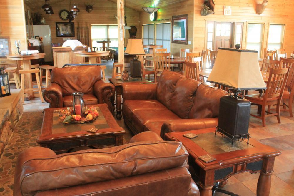 Lounge Area in Main Lodge