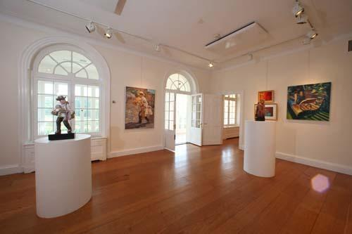 Second floor Gallery and Front Porch