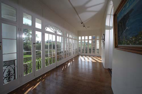 Front Porch, Second floor Gallery