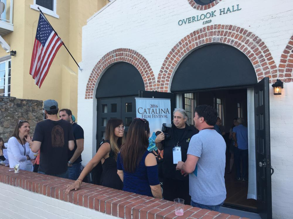 Catalina Film Festival Reception at Overlook Hall