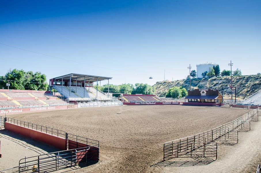 Rodeo Arena - used for rodeos, concerts, truck pulls and more!