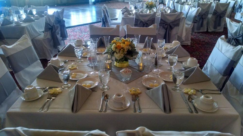 Catered Events in Kittredge Hall