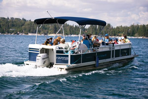 Boat Ride on Lake Arrowhead