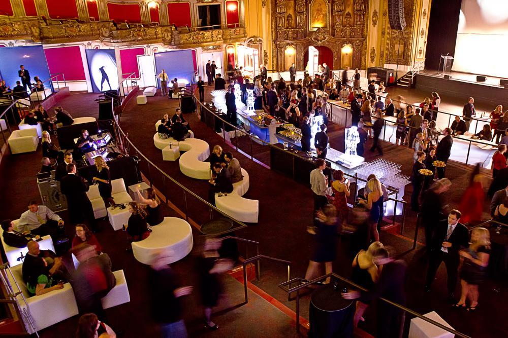 Cocktail Receptions for up to 1,500 in the Main Theatre