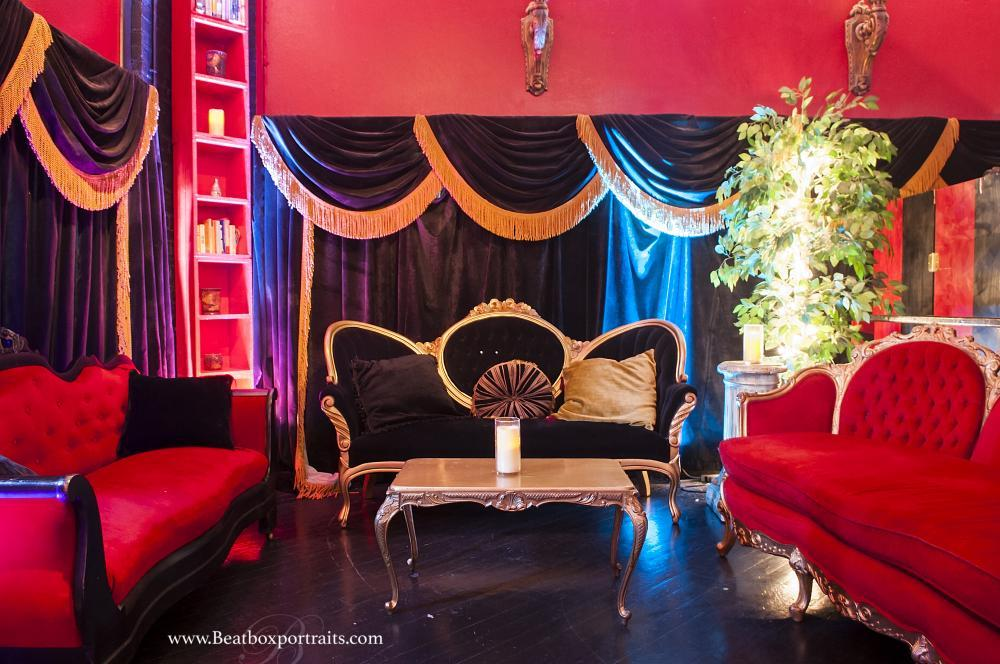 Dallas Event Venue -our Louis XIV Lounge