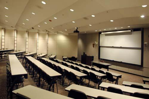 Corboy Law Center classroom at Water Tower Campus