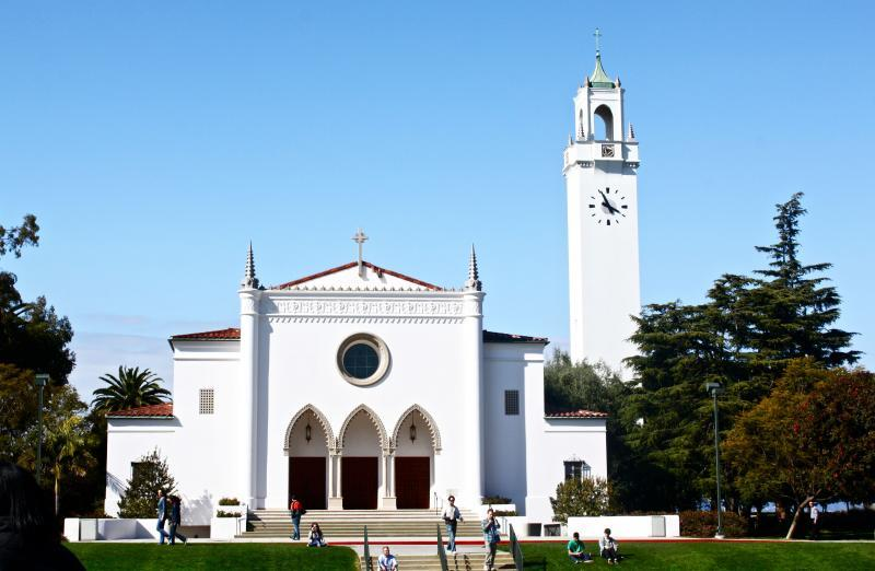 Loyola Marymount University - Sacred Heart Chapel