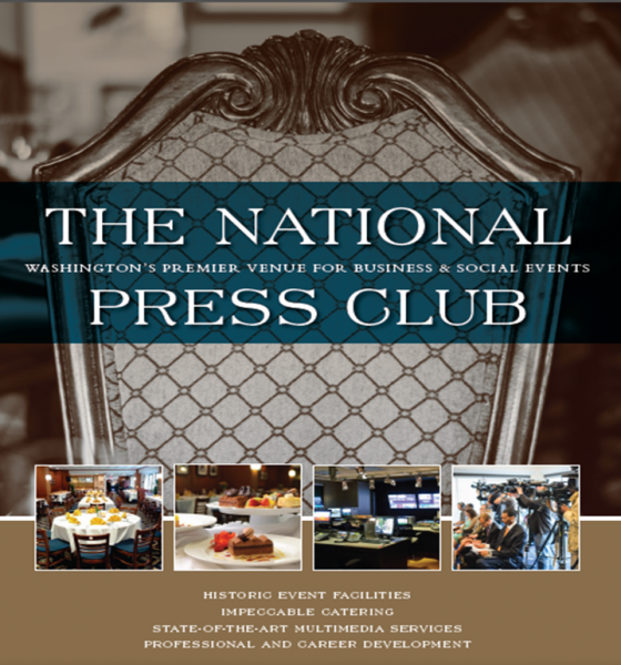 The National Press Club - A Truly Unique and Historic Event Venue