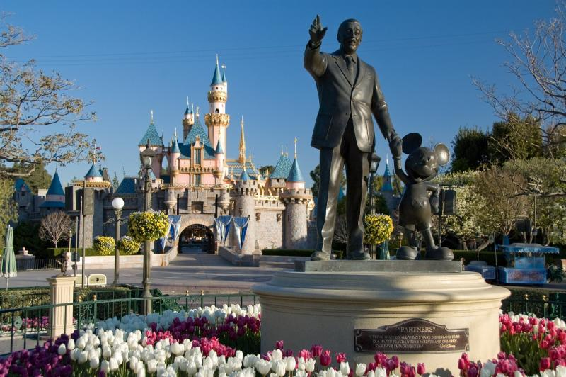Disneyland is Located 5 miles from the University