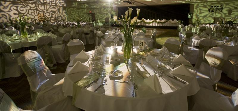 Our facilities can accomodate a variety of events, from corporate meetings to wedding receptions!