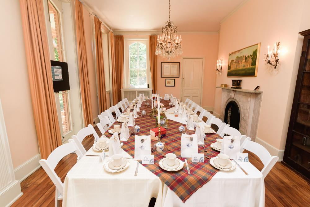 Historic Event Space in Tudor Place dining room BY Stacie Smith Evans