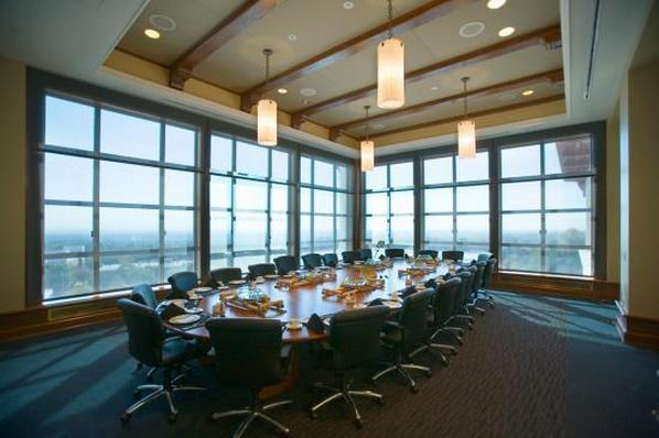 The President's Dining Room is the perfect location for Board Meeting
