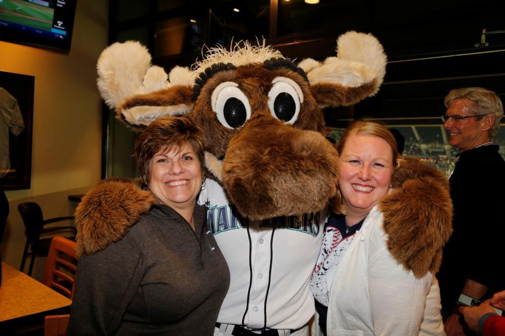 Invite the Moose to surprise your guests and pose for photos.