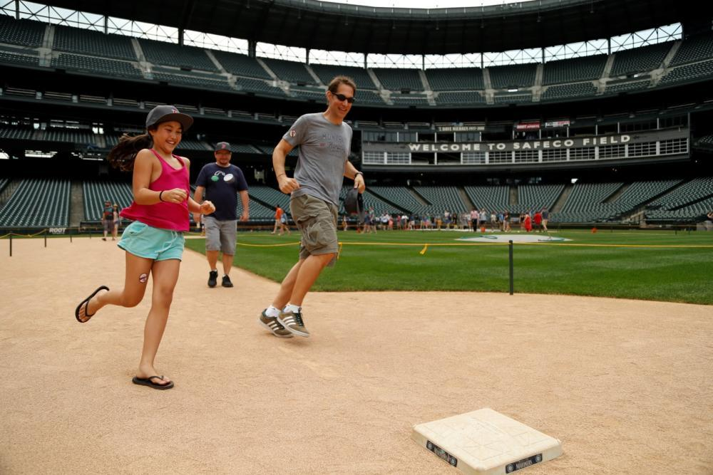 This is your chance to score a run as you and your attendees run around the base