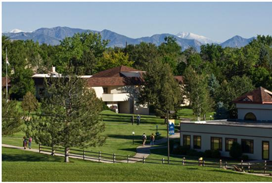 Colorado Christian University is within 15 miles of the Rocky Mountains.