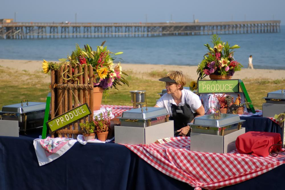 Catered Event at Goleta Beach
