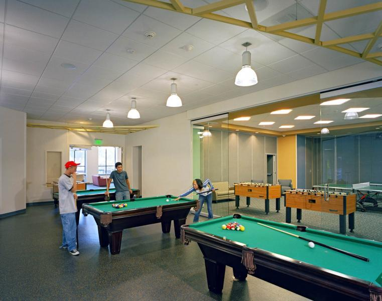 All accommodations include rec areas with pool, Foosball and entertainment