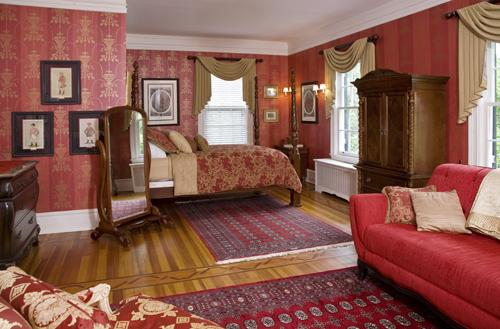 The Roosevelt Suite is located on the main floor of the Manor