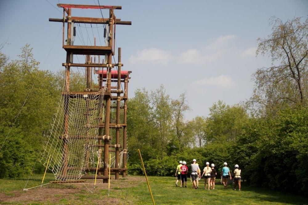 Boiler Challenge Ropes Course