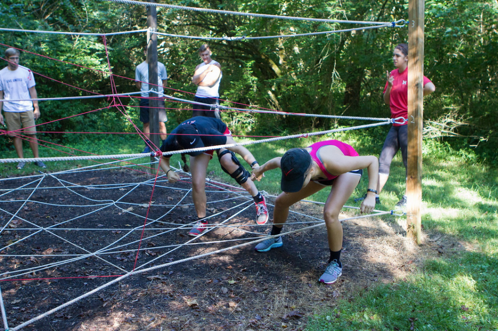 Low Ropes Course - Team Building