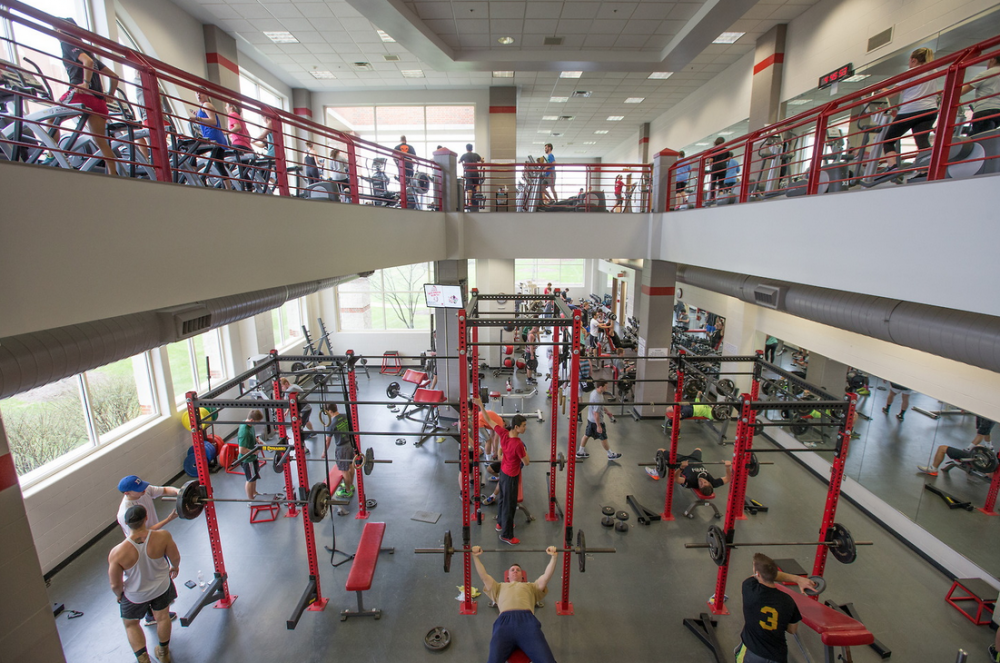 Campus Rec Center - Weights and Cardio