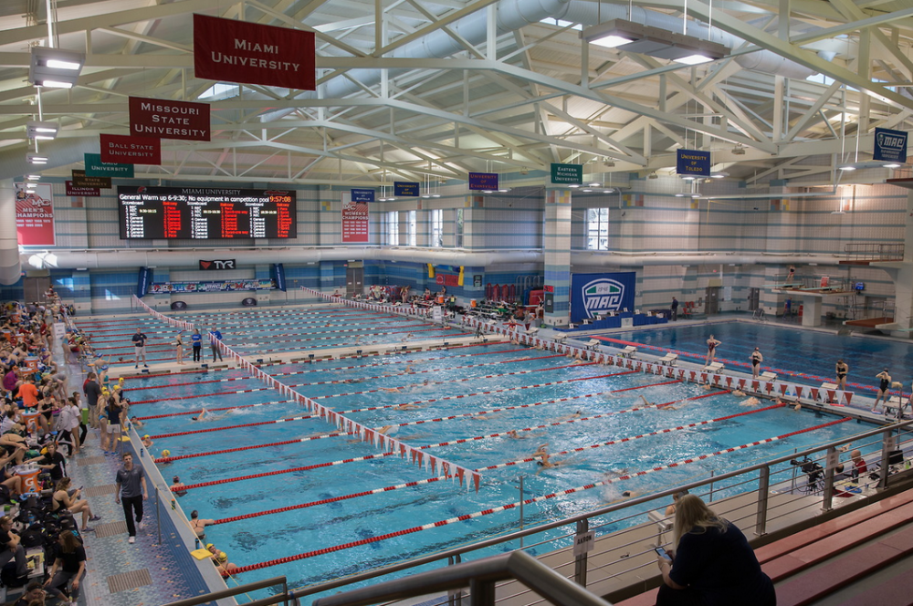 Campus Rec Center - Indoor Swimming and Diving Pool