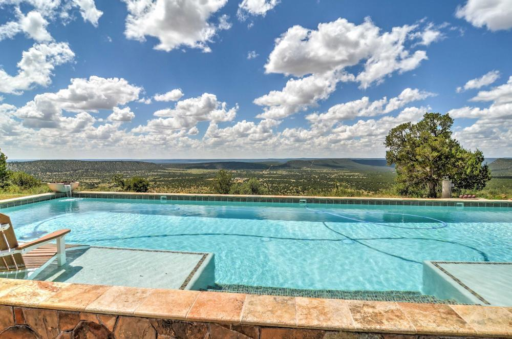 Lap Pool with 70 mile views