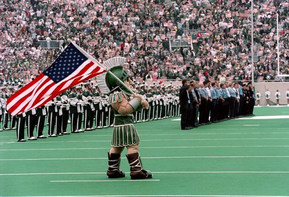 """Meet """"Sparty"""" at your next conference!"""