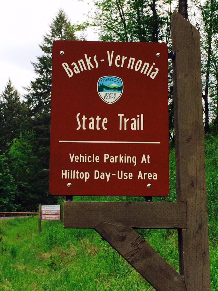 Ride the Banks-Vernonia State Trail which runs through Vernonia Springs