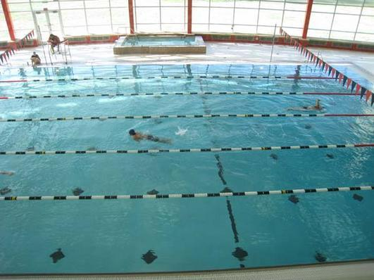 Groups can reserve the Natatorium during the hot Las Vegas summers.