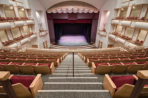 Inside Curtis M. Phillips Center for the Performing Arts
