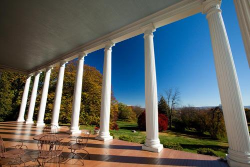 View from the Grand Portico