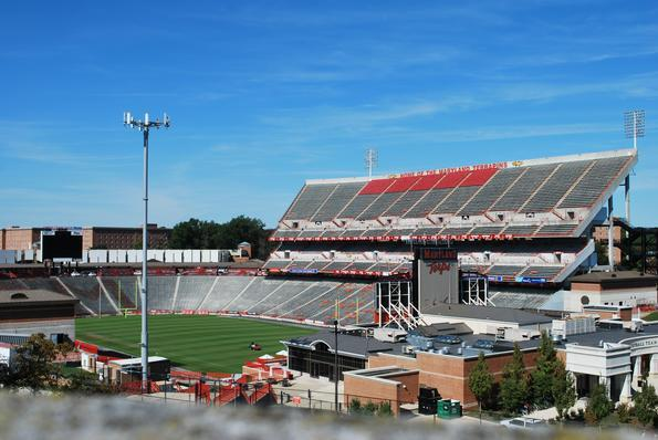 Capital One Field at Byrd Stadium - the Home of the Maryland Terrapins!