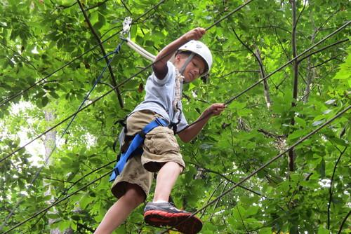 High Ropes Course for Youth and Adult