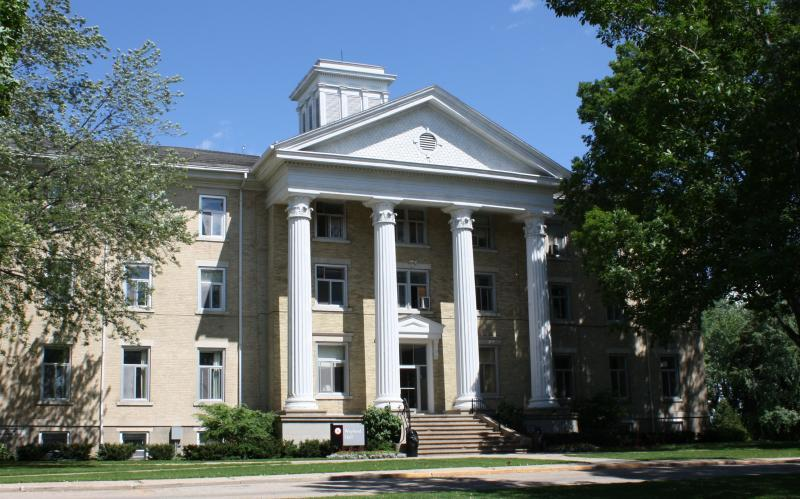 Wayland Hall is the most historical building on campus, serving as a dorm.