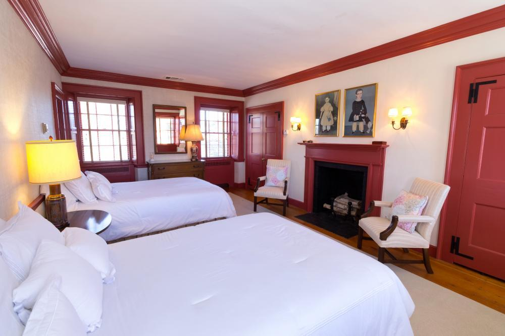 Spend the night in 1 of the West House' 3 bedrooms