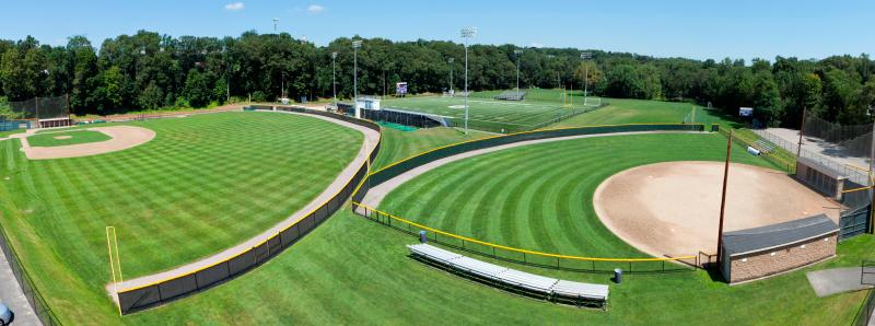 Outdoor Athletic Facilities at Curry College